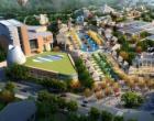 经过两年多的开发建设国瓷小镇框架已经成型