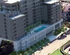 达拉斯住宅区最新的高层建筑已经开始施工该建筑是新月街对面的一栋12层高的公寓楼