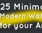 适用于Android的25张简约现代壁纸