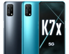 OPPO K7x正式成为该公司最便宜的5G智能手机