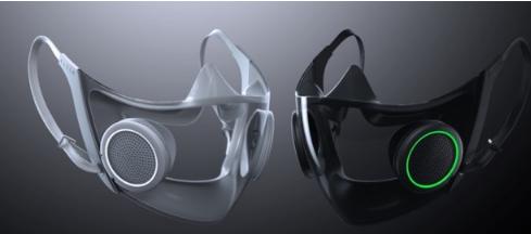 互联网资讯:Razer展示具有60英寸显示屏概念的RGB面具和游戏椅
