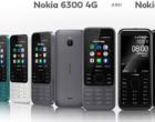 HMD计划复刻两款诺基亚品牌经典的机型6300和8000手机