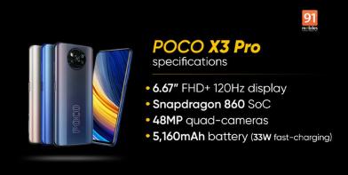 科技热点:小米POCO X3 Pro将于3月30日在推出