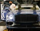 2021年Bentley Flying Spur V8开始生产包装为550 PS