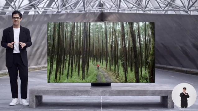 三星推出了Neo QLED电视及其带有太阳能的遥控器
