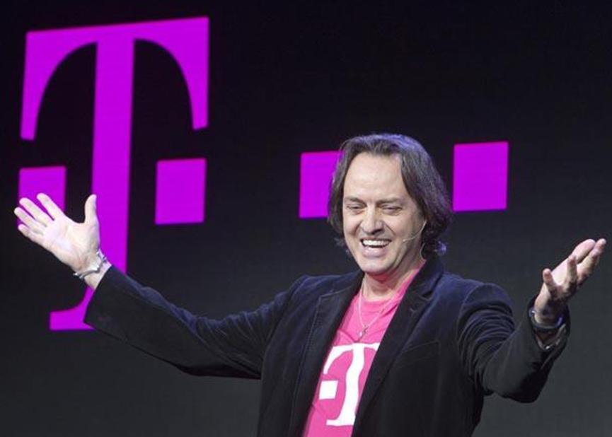 神秘的非运营商公告离T-Mobile CEO天鹅之歌越近越好