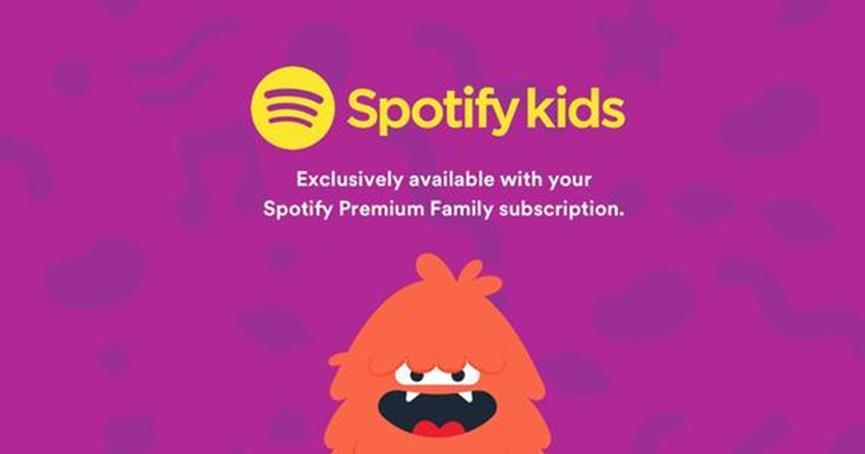 Spotify Kids扩展到英国和澳大利亚