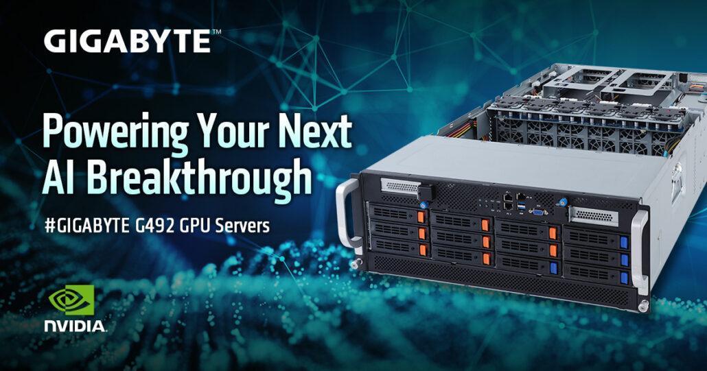 技嘉发布了最新的服务器,这些服务器配备了AMD EPYC Rome CPU和NVIDIA A100 GPU