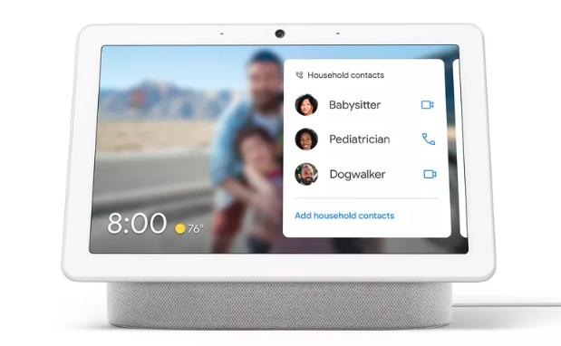 科技要闻:您现在可以通过智能显示器在Google Meet或Duo中进行群组通话